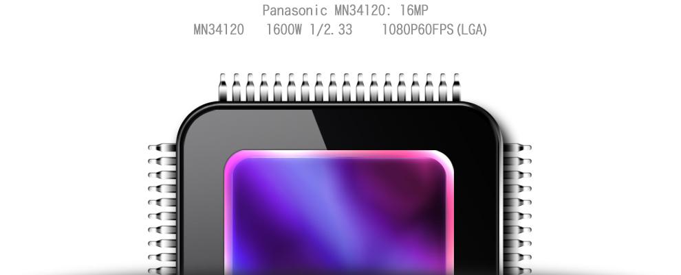 Dazzne P3 Sensor: 16 MP Panasonic MN34120