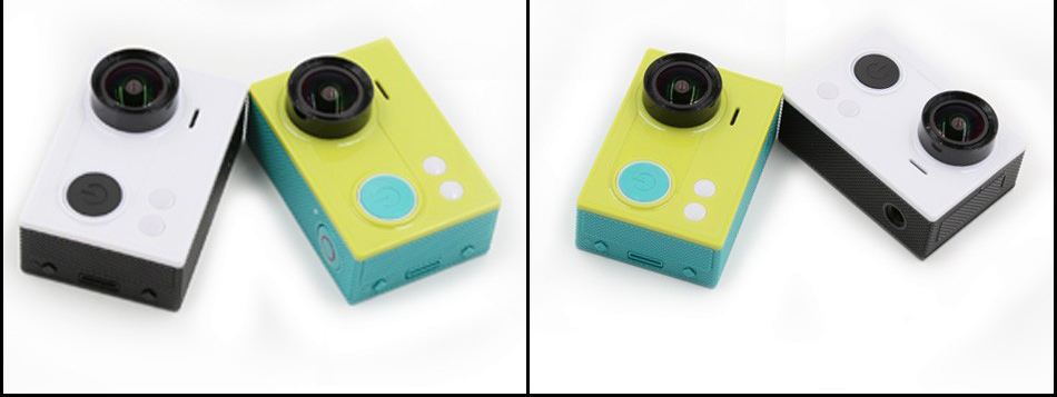 Fake Xiaomi Yi action camera - also in white and green