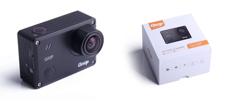 GitUp Git2P - 16MP Panasonic Sensor - 90°FOV
