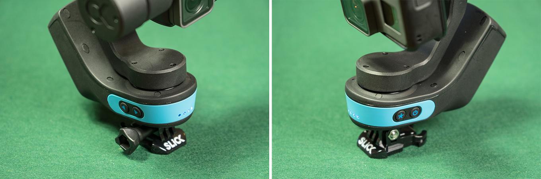 SLICK gimbal buttons