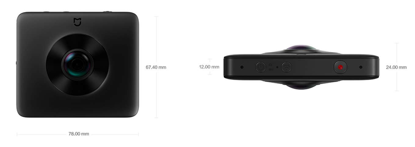 Xiaomi 360° Panoramic Camera - Design