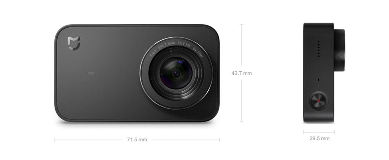 Xiaomi Mijia Action Camera - Dimensions