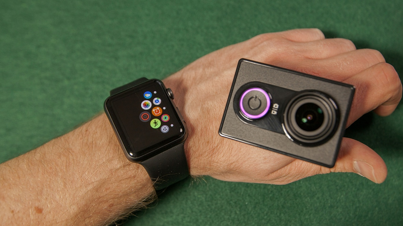 Yi Action Camera Apple Watch