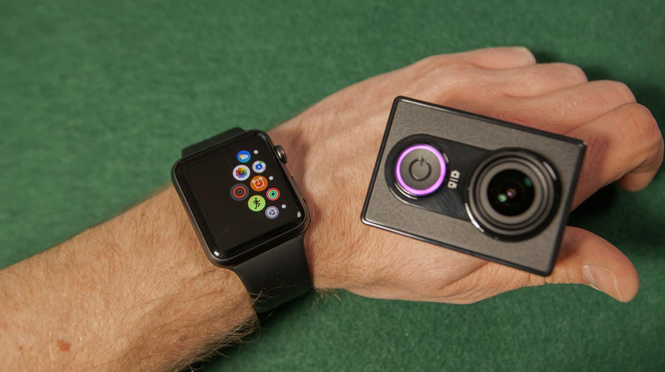 Yi Action Camera Apple Watch App - el Producente