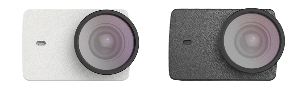 YI 4K Action Camera Accessories: Leather Case & UV Filter